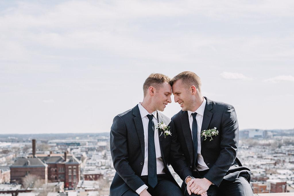 Urban Elegant Same-Sex Wedding Styled Shoot at Bok Zachary Andrew Events Philadelphia Wedding Planner Philly In Love Philadelphia Weddings