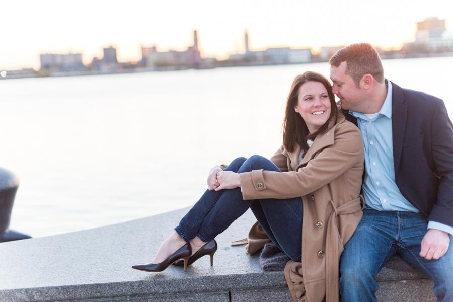 Sunrise Old City Engagement Session by Tami and Ryan Photography Philadelphia Photographer Philly In Love Philadelphia Weddings