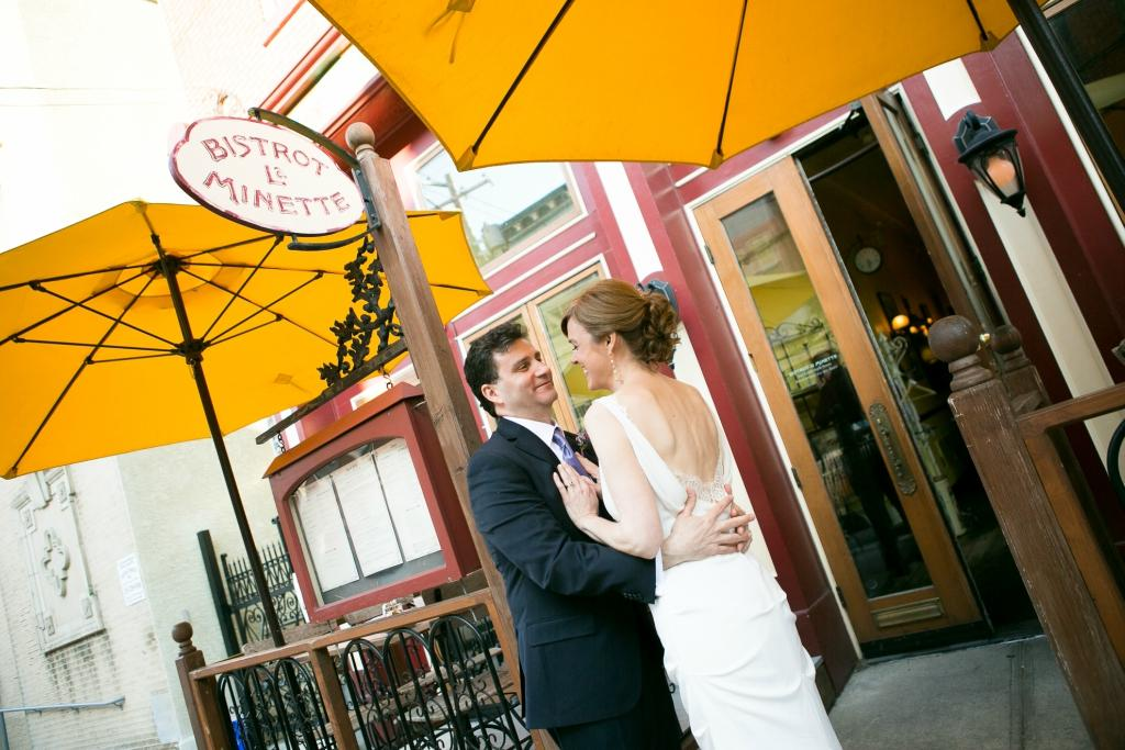 Intimate French Wedding at Bistrot La Minette by Lindsay Docherty Philadelphia Photographer Philly In Love Philadelphia Wedding
