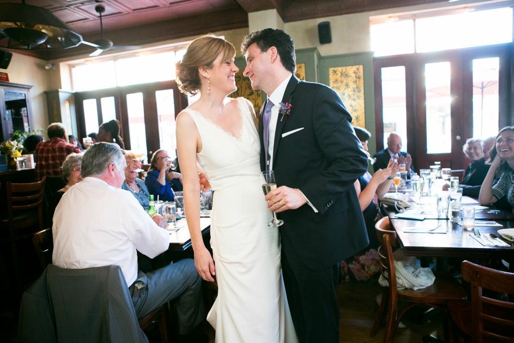 Intimate French Wedding at Bistrot La Minette by Lindsay Docherty Philadelphia Photographer Philly In Love Philadelphia Wedding
