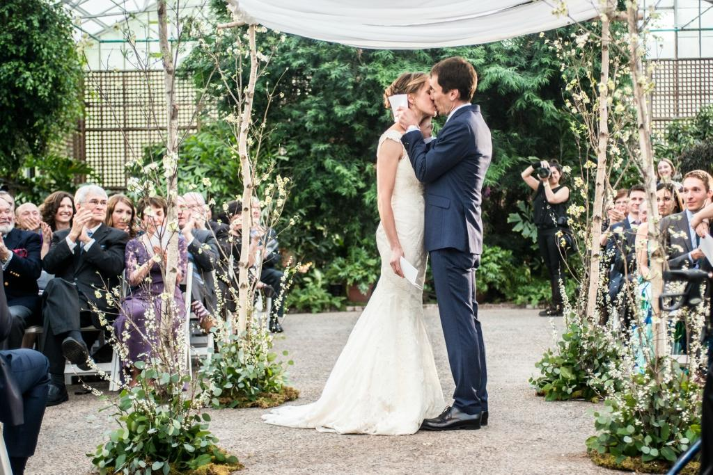 Fairmount Park Horticultural Center Wedding Ceremony