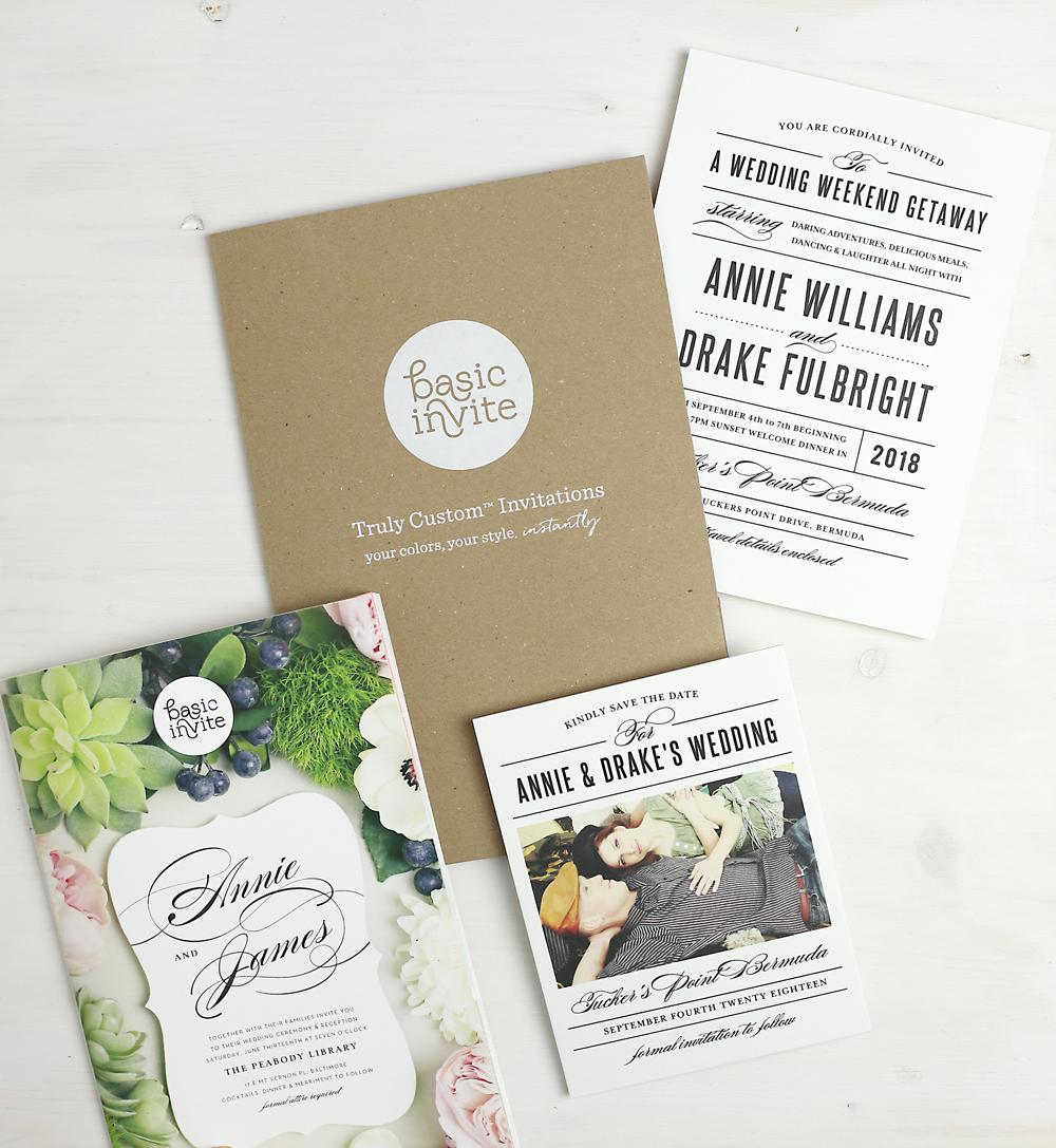 Find The Perfect Stationery For Your Wedding at Basic Invite