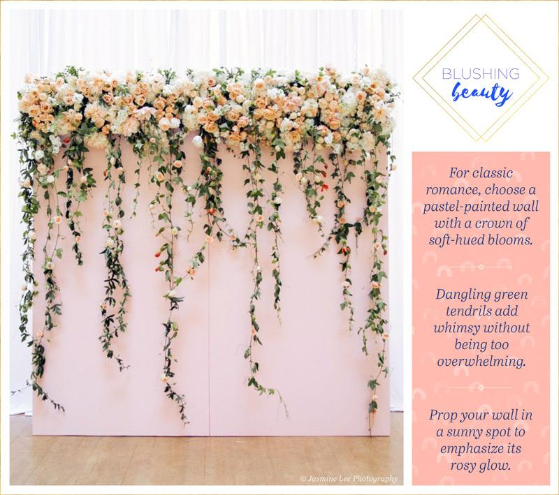 14 Flower Wall Ideas For An Unforgettable Wedding Philly