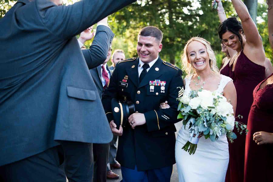 kunda photography military bride and groom