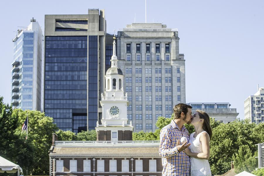 Charming Engagement Session in Philadelphia's Historic District Kerry McIntyre Photography Philadelphia Photographer Philly In Love Philadelphia Weddings Philadelphia Wedding Vendors