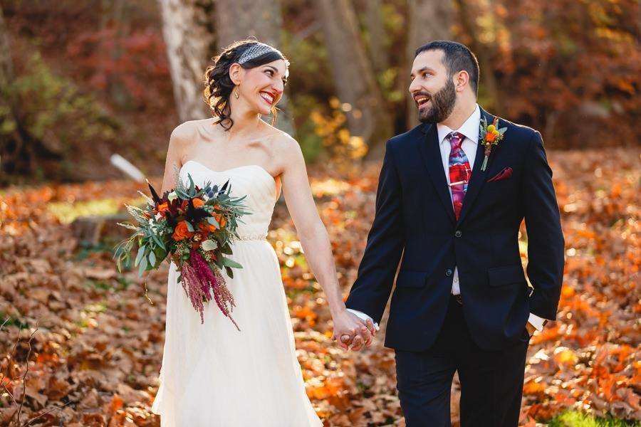 Rustic Fall Wedding at Barn on Bridge Wedding Venue Bartlett Pair Photography Philadelphia Wedding Photographer Philly In Love Philadelphia Wedding