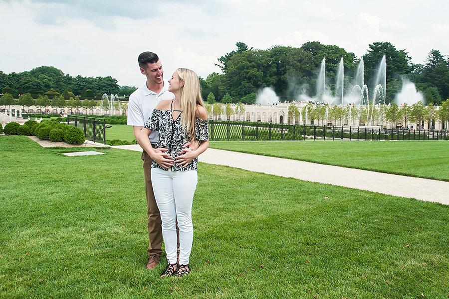 Proposal at Longwood Gardens by Benjamin Deibert Photography Philadelphia Photographer Philly In Love Philadelphia Weddings