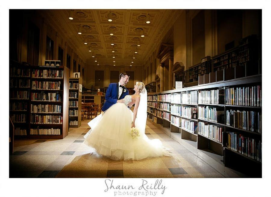 Wedding Open House At The Free Library Of Philadelphia