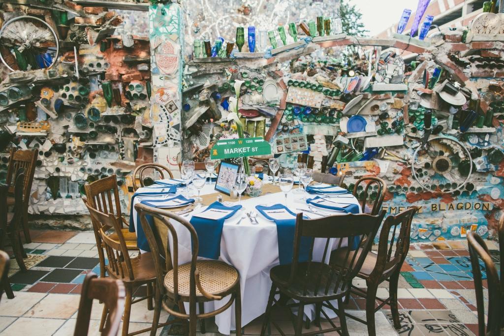 5 Philadelphia Venues for an Intimate Wedding Philadelphias Magic Gardens Philadelphia Wedding Venue Philly In Love Philadelphia Weddings