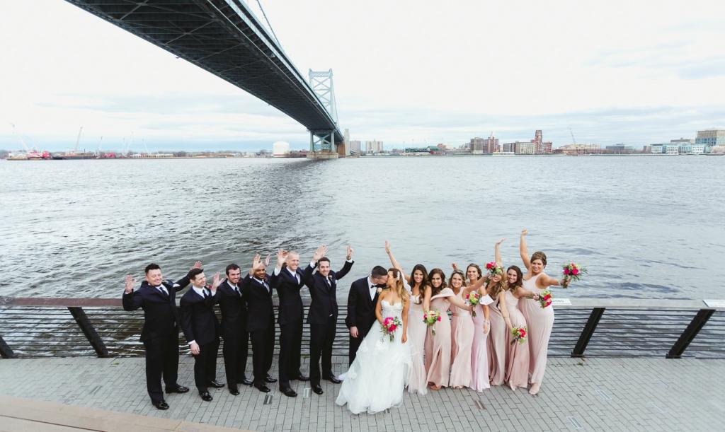 Whimsical Modern Wedding at Hotel Monaco Magdalena Studios Philly In Love Philadelphia Weddings