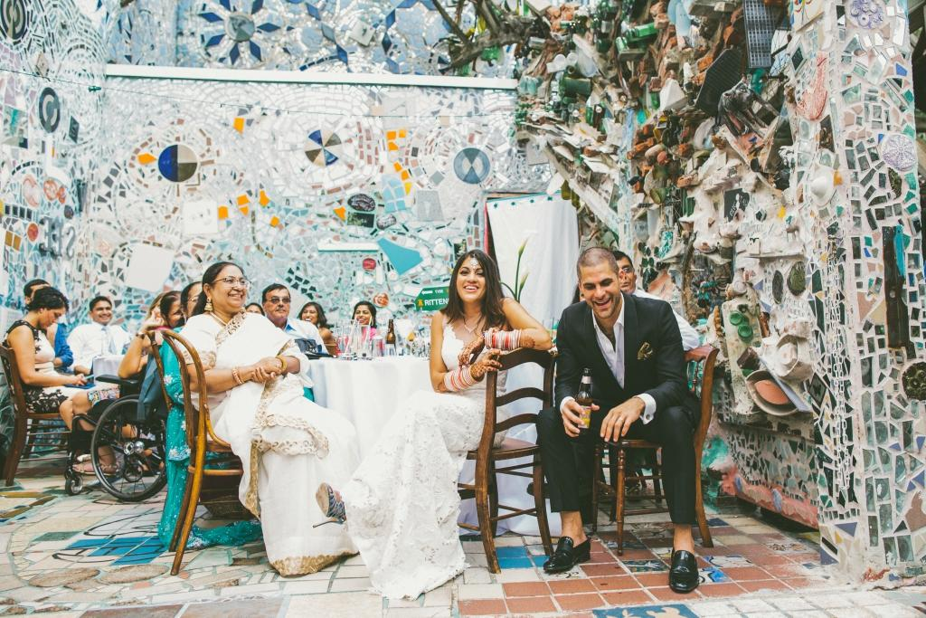 5 Philadelphia Venues for an Intimate Wedding Philadelphias Magic Gardens Philadelphia Wedding Venue Philly In Love Philadelphia Weddings