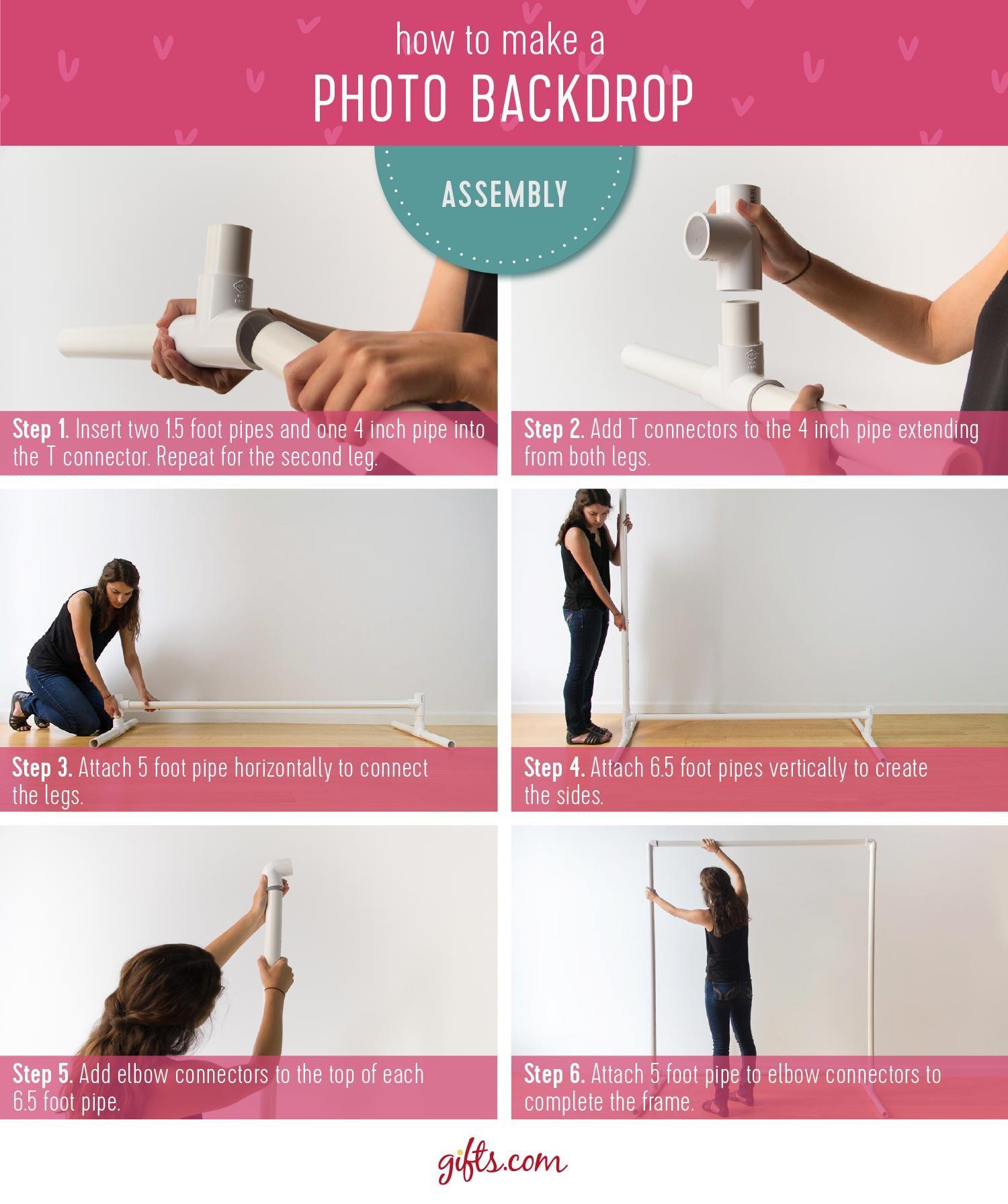 DIY Photo Booth Backdrops