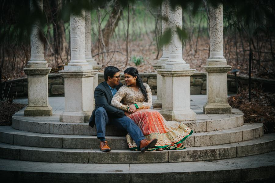Longwood Gardens Engagement Session by Maria A. Garth Photography Philly In Love Philadelphia Weddings