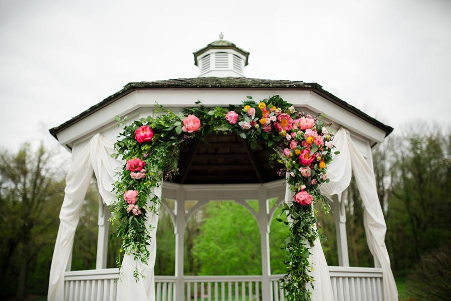 8 Swoon-Worthy Flower Wedding Arches Philly In Love Wedding Inspiration Philadelphia Weddings