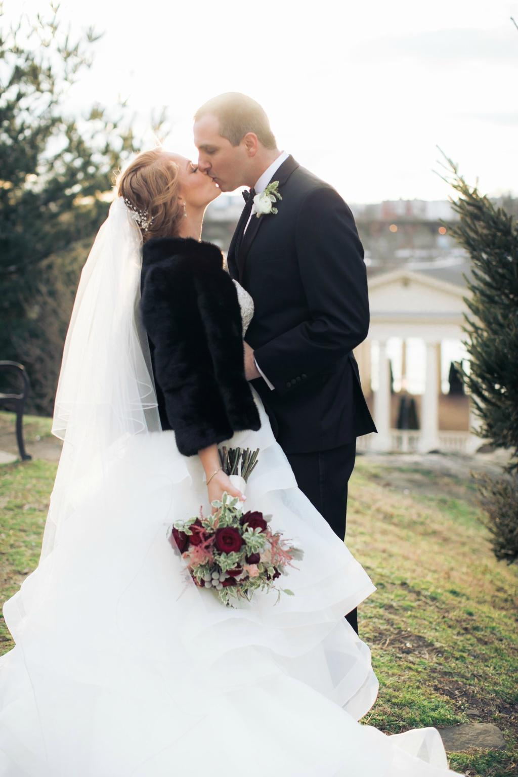 Classic Winter Wedding at Crystal Tea Ballroom Finley Catering Magdalena Kernan Studios Philly In Love Philadelphia Weddings Venues Vendors
