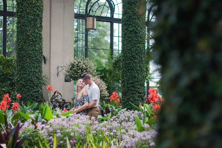 Longwood Gardens Proposal, Benjamin Deibert Photography, Philadelphia Wedding Photographers