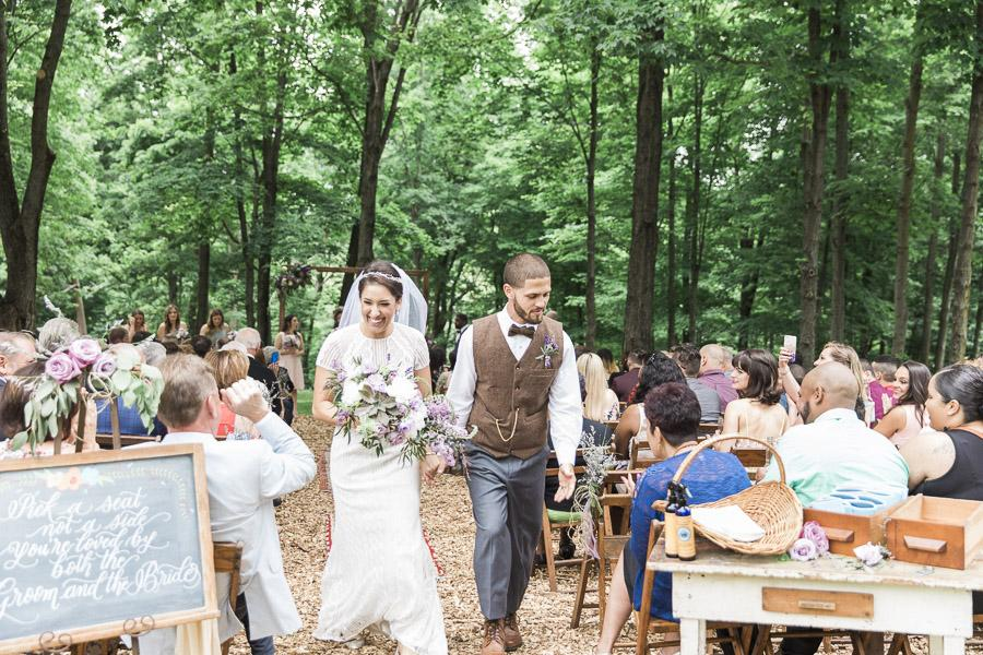 Bohemian Backyard Bbq Wedding In Washington Crossing