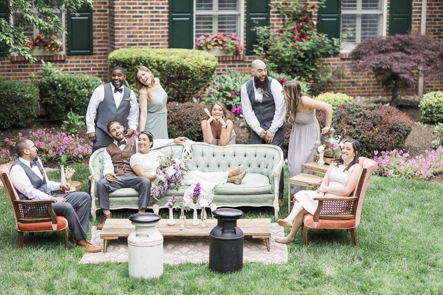 Bohemian Backyard Bbq Wedding In Washington Crossing Nicole Dumond Photography Philly Love Philadelphia Weddings