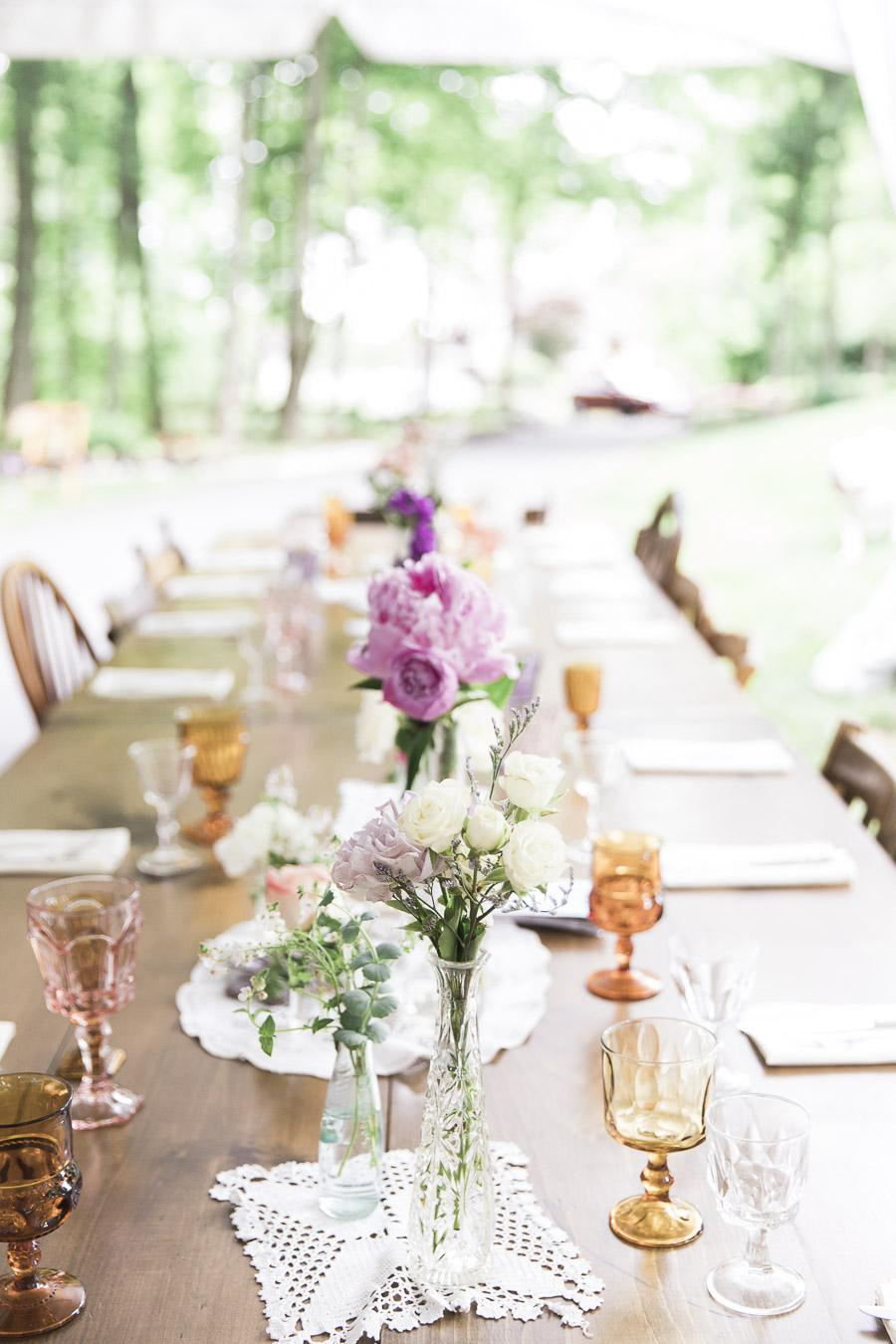 Bohemian Backyard BBQ Wedding in Washington Crossing Nicole Dumond Photography Philly In Love Philadelphia Weddings Philadelphia Wedding Vendors