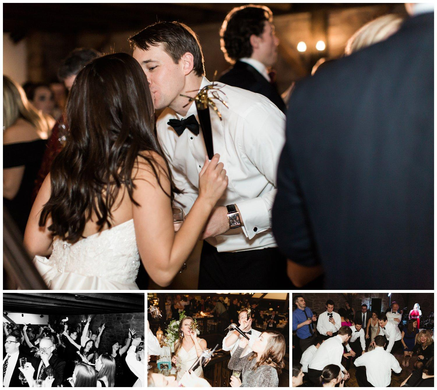 New Year's Eve Wedding at the Barn on the Bridge Magdalena Studios Philly In Love Philadelphia Weddings