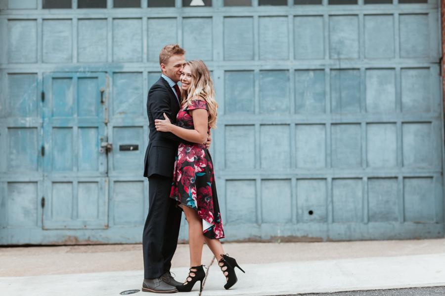 Old City Engagement Session by Afrik Armando Philly In Love Philadelphia Weddings