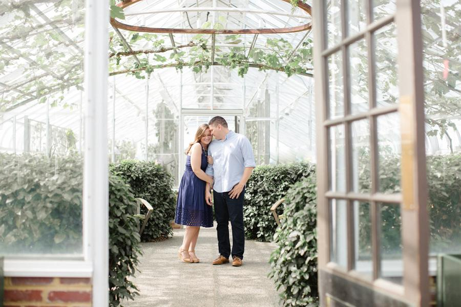 A Lovely Engagement Session at Longwood Gardens Jordan DeNike Photography Philly In Love Philadelphia Weddings
