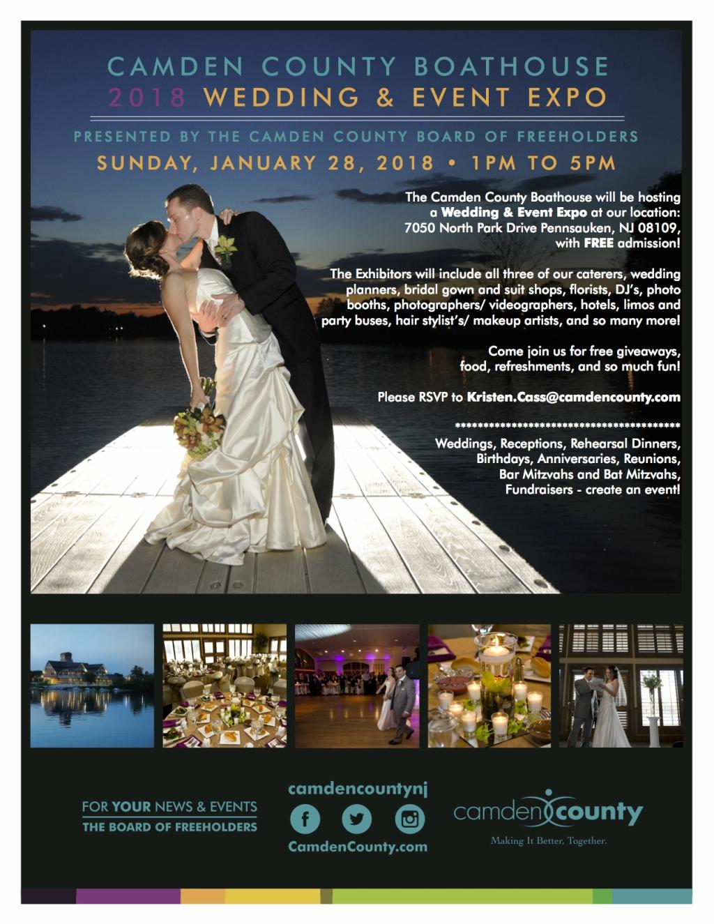 Camden County Boathouse 2018 Wedding and Event Expo Philly In Love Philadelphia Weddings