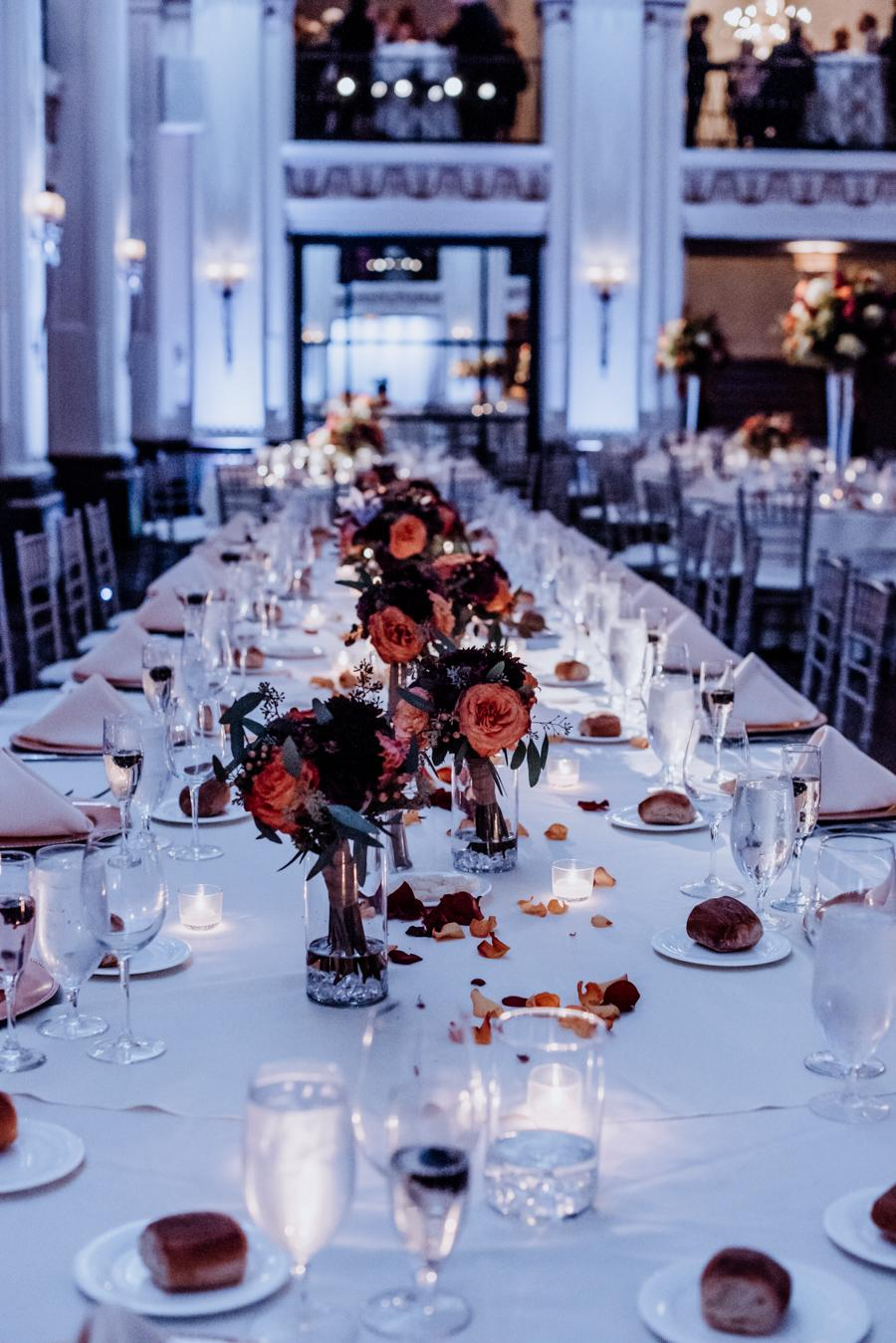 Classic Philadelphia Wedding at Ballroom at the Ben Tricia Notte Images Philly In Love Philadelphia Weddings Venues Vendors