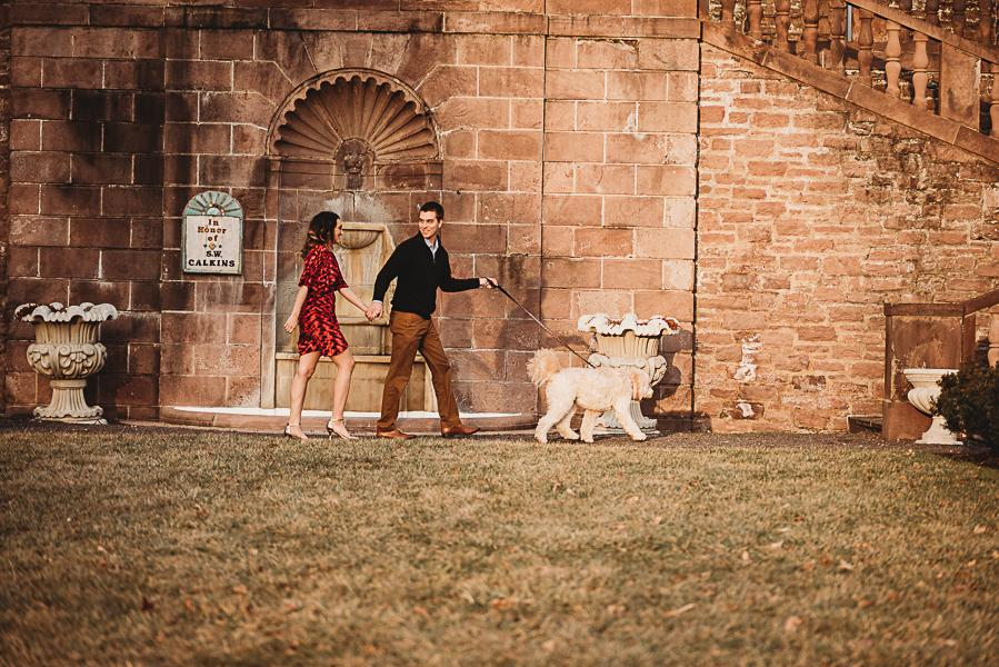 Romantic Engagement Session at Tyler Gardens Rachel Betson Photography Philly In Love Philadelphia Weddings Philadelphia Wedding Venues Philadelphia Wedding Vendors