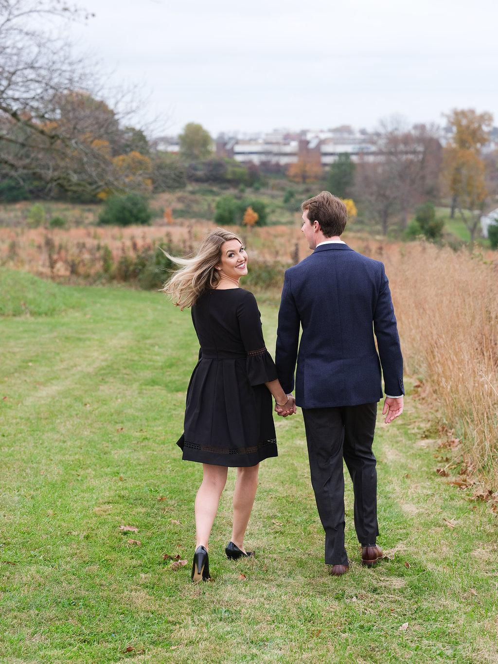 Fall Engagement Session at Valley Forge National Historical Park Alison Conklin Photography Philly In Love Philadelphia Weddings Venues Vendors