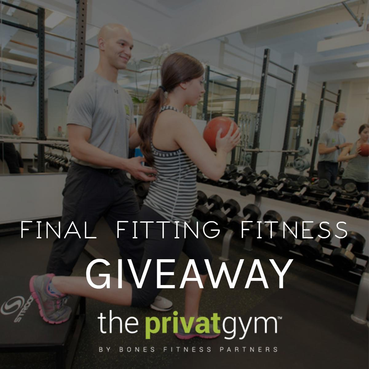 Final Fitting Fitness Giveaway with The PrivatGym Philly In Love Philadelphia Bride Weddings