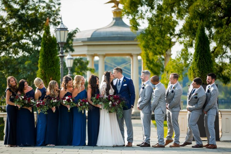Elegant Philadelphia Wedding at Water Works Philly In Love Philadelphia Wedding Venue Vendors