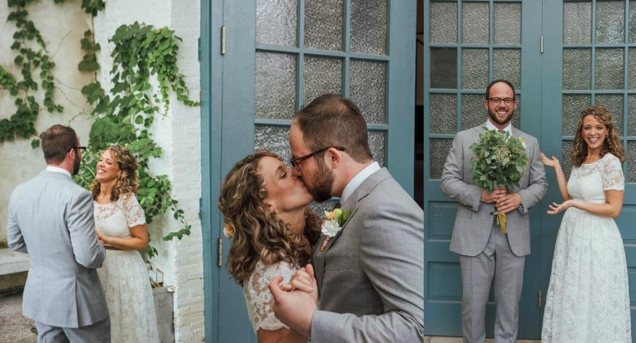 Pizza Party Wedding at the Maas Building Matt Gari Photography Philly In Love Philadelphia Weddings