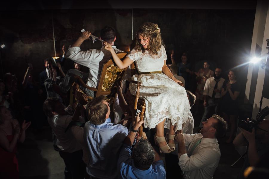 Pizza Party Wedding at the Maas Building Matt Gari Photography Philly In Love Philadelphia Weddings