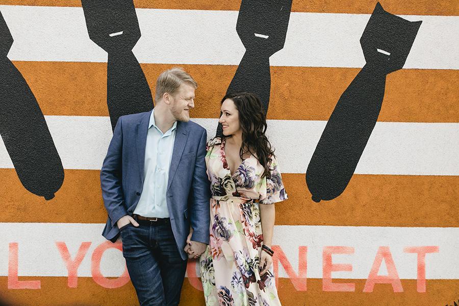 Romantic Philadelphia Engagement Session by Heart & Rae Photography Philly In Love Philadelphia Weddings Venues Vendors