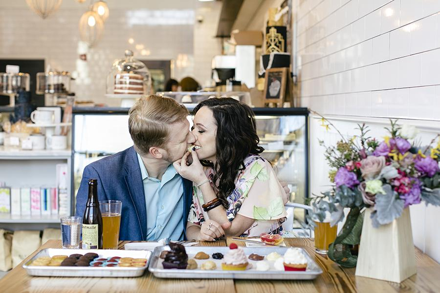 Romantic Philadelphia Engagement Session by Heart & Rae Photography Philly In Love Philadelphia Weddings Venues Vendors