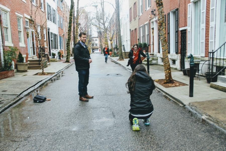 Sweet Philly Proposal on Addison Street Philly In Love Philadelphia Weddings Venues Vendors