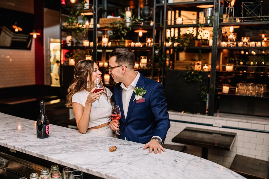 Non-Traditional Wedding at Barbuzzo Upstairs Brittney Raine Photography Philly In Love Philadelphia Weddings Venues Vendors