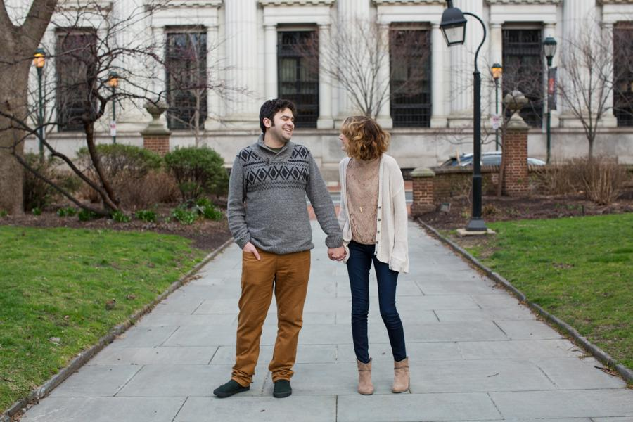 Sweet Engagement Session at Washington Square Park Mariya Stecklair Photography Philly In Love Philadelphia Weddings Venues Vendors
