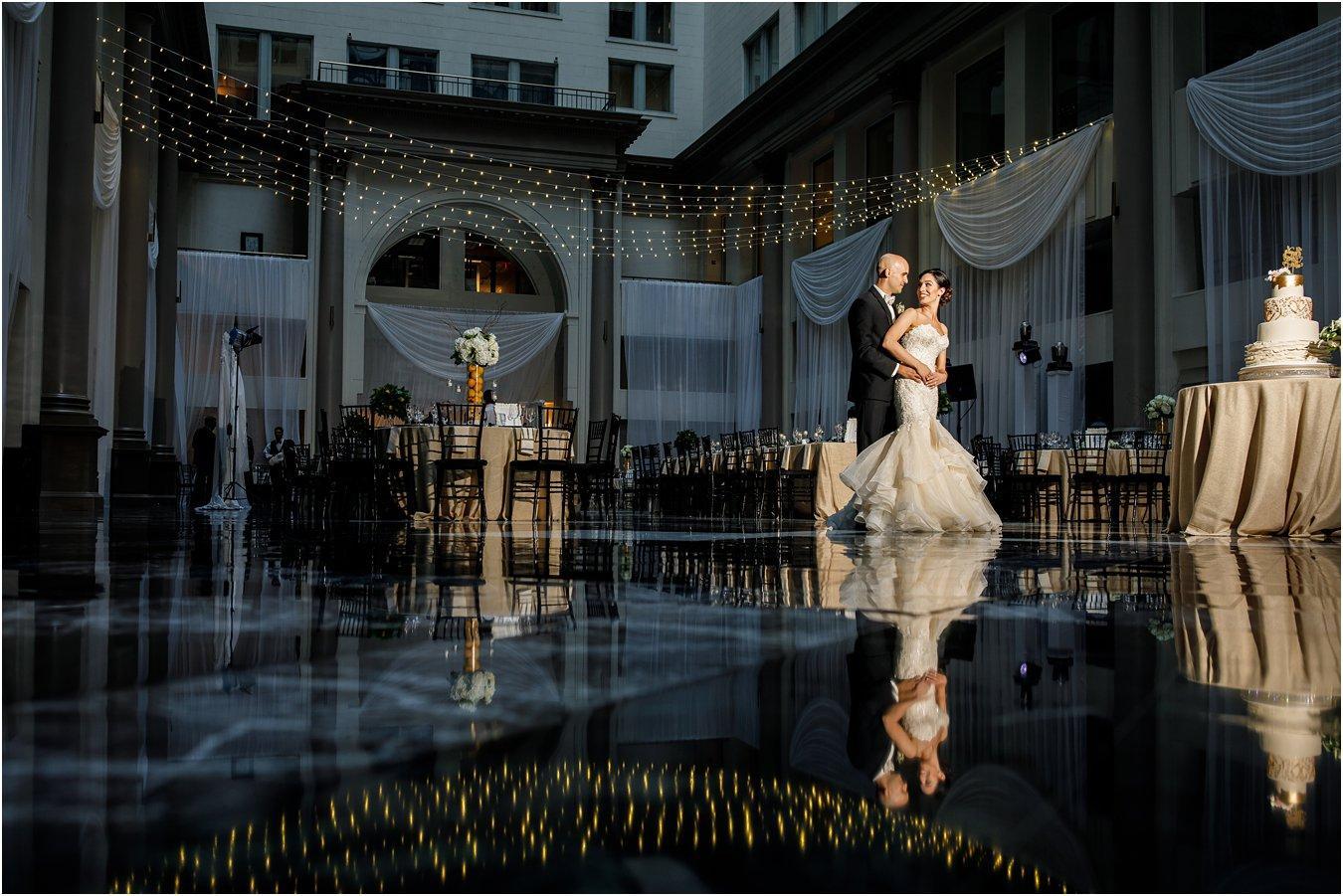 Italian Garden Wedding At The Atrium at Curtis Center Anastasia Romanova Photography Philly In Love Philadelphia Weddings Venues Vendors