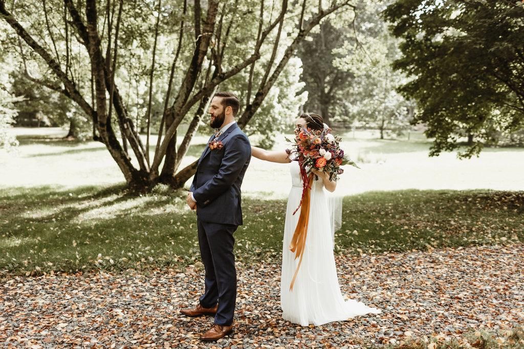 Dutch Masters Floral-Inspired Wedding at Tyler Arboretum Quarter Moon Co. Philly In Love Philadelphia Weddings Venues Vendors