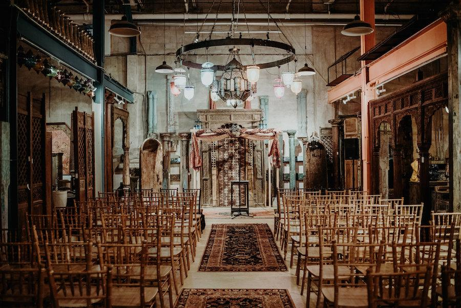 Material Culture Wedding Ceremony Philly in Love wedding venue