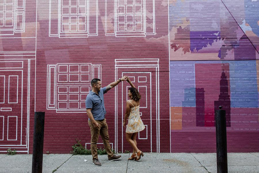Fun Engagement Session by Hand and Arrow Photography Philly In Love Philadelphia Wedding Blog Venues Vendors