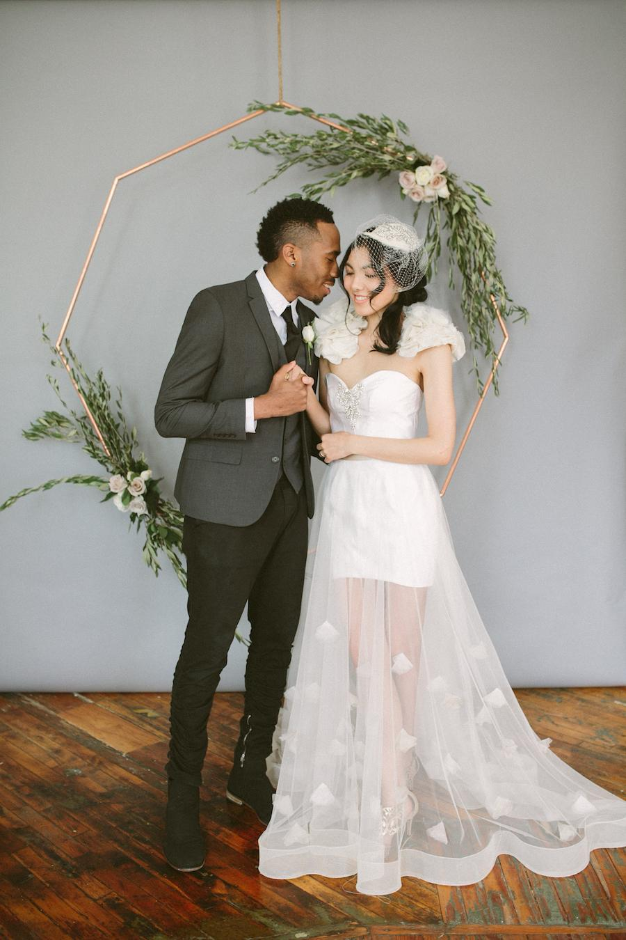 Minimalist Styled Wedding Inspiration Events by Merida Brae Howard Photography Philadelphia Wedding Vendors Philly In Love