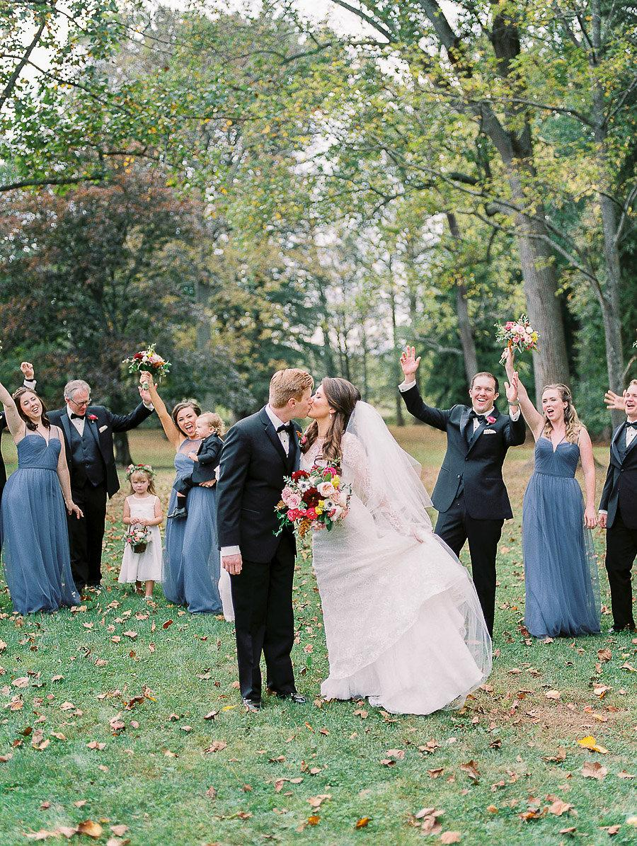 Slate Blue Fall Wedding At Lookaway Golf Club Du Soleil Photo Philly In Love Philadelphia Wedding Blog Inspiration Venues Vendors