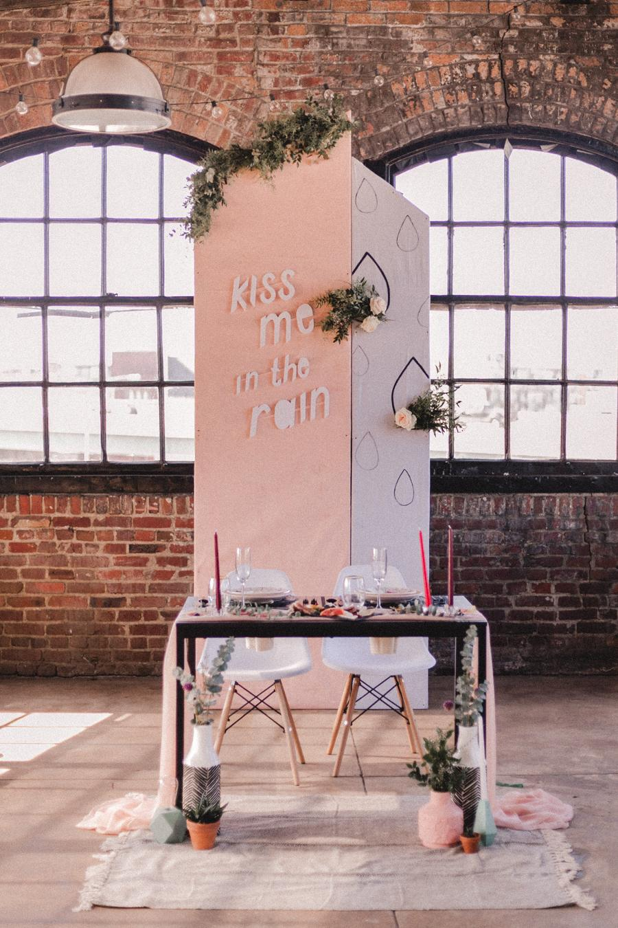 Modern Minimalist Styled Wedding at Philadelphia Distilling Afrik Armando Philly In Love Philadelphia Wedding Blog Venues Vendors