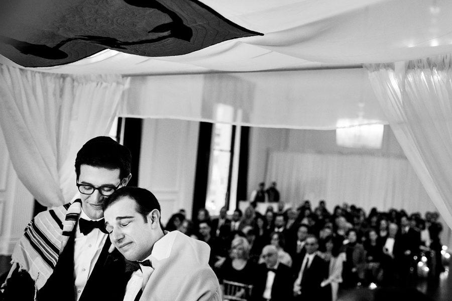 jewish wedding, groom, daniel moyer photography