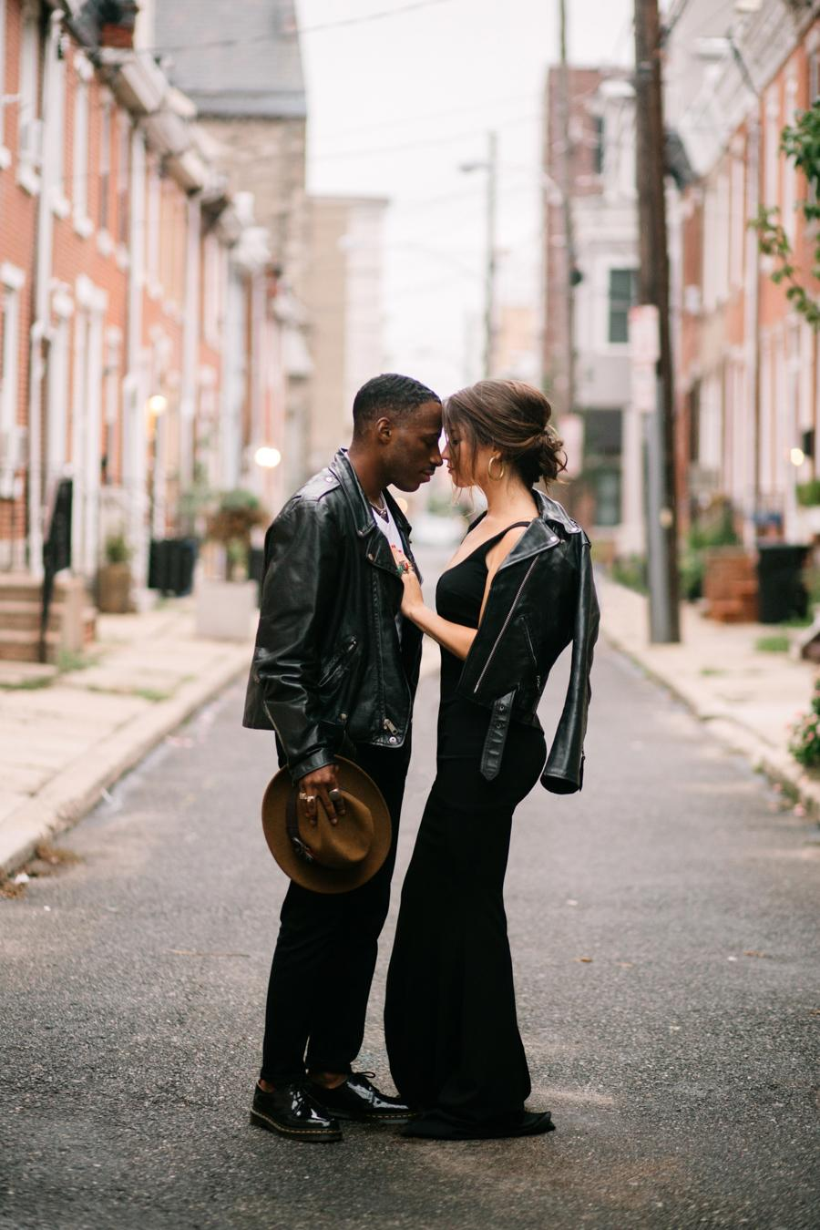 Moody Fall South Philly Couple Session Hope Helmuth Photography Philly In Love Philadelphia Wedding Blog Venues Vendors