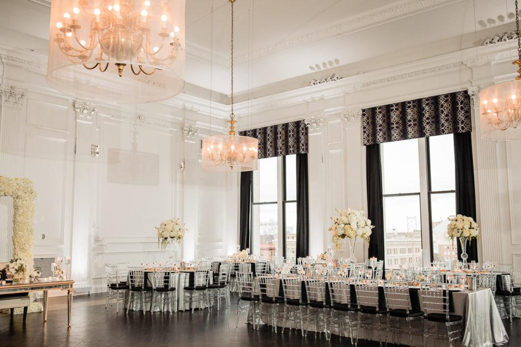 The Downtown Club Reception, Philadelphia Wedding Venues, Philly in Love