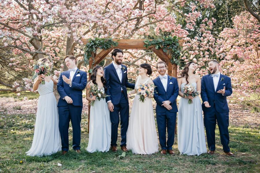 Whimsical Outdoor Wedding At Tyler Arboretum Hope Helmuth Photography Philly In Love Philadelphia Weddings